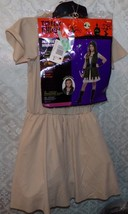 Medieval Hunter Halloween Costume M New Ages 8 - 14 Dress Vest Hood Belt Cuffs - $28.93