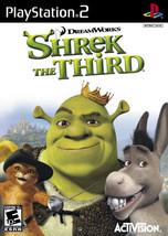 Shrek the Third PS2 New Playstation 2  - $6.99