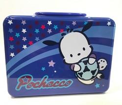 Sanrio Pochacco Hello Kitty Metal Lunch Box 2001 Sanrio - $29.99