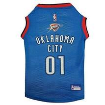 NBA Oklahoma City Thunder Dog Jersey, X-Small - Tank Top Basketball Pet ... - $18.80