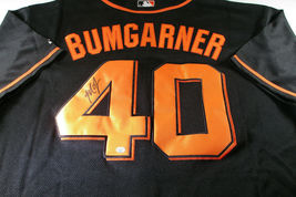 MADISON BUMGARNER / AUTOGRAPHED SAN FRANCISCO GIANTS PRO STYLE JERSEY / COA