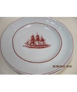 2 Wedgwood Georgetown Collection Flying Cloud Rust Bread & Butter  Desse... - $9.90