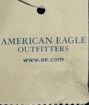 American Eagle Outfitters 7476 AE Everyday Tote Magnetic Closure Color Navy image 3