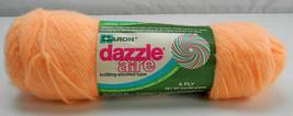 Vintage Caron Dazzleaire 4-Ply Creslan/Nylon Yarn - 1 Skein #22630 Peach - $9.65