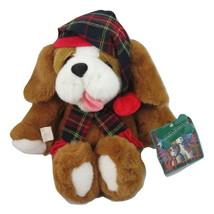 "Digby Dexter Commonwealth St Bernard Dog Christmas 1995  Plush 18"" Dayton Hudson - $14.84"