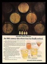 Wine Casks Bottles 1976 Almaden Vineyards California Solera Sherries Pho... - $14.99