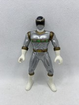"Silver Ranger 5.5"" Inch Mighty Morphin Power Ranger Action Figure - 1998 Bandai - $15.12"