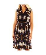 Woman's R&K Originals V-Neck Print Dress Plus Sizes 1X, 2X, 3X NEW MSRP ... - $24.99