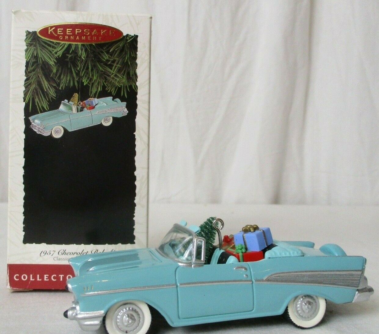 Primary image for HALLMARK 1994 Collector Series Keepsake Ornament 1957 Chevrolet Bel-Air w/Box