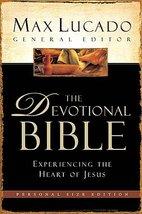 The Devotional Bible: Experiencing the Heart of Jesus (New Century Versi... - $22.75