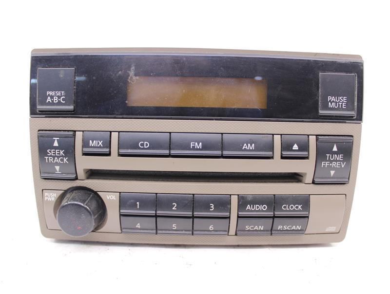 Radio Nissan Altima 2005 05 2006 06 Am Fm Cd 28185zb10c
