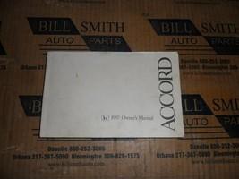 Owners Manual OEM For 1997 Honda Accord 524569 - $39.65