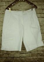 men's Woolrich white cargo shorts waist 34 - $12.19