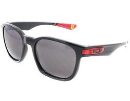 Oakley Gafas Scuderi Ferrari Garaje Rock Pulido Negro W/ Gris Cálido OO9... - $196.31