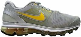 Nike Air Max+ 2010 LAF Metallic Silver/Maize-Wolf Grey-Black 417720-081 SZ 9 - $58.50