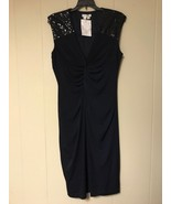 London Times Women Dress Navy Size US 12  - $32.00