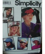 Sewing Pattern 7932 Hats & Gloves (Gloves for stretch fabrics) - $4.99