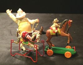 Hallmark Handcrafted Ornaments Toymaker Santa and a Pony for Christmas AA-191779 image 4