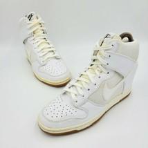 Nike Dunk Sky Hi Hidden Wedge Heel Sneakers 579763-100 Womens Size US 7.... - $79.99