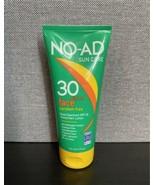 (1) NO-AD Sun Care Face 30 Oil Free Sunscreen Lotion 6fl oz EXP 10/2021 - $23.38