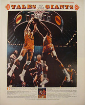 1970 Tales of The Giants LARRY BIRD & Other Basketball Players Promo Pri... - $9.99
