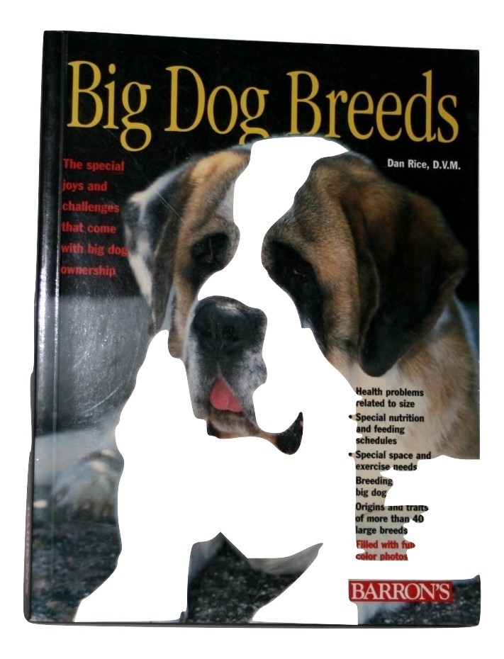 Big Dog Breeds, Barron's, New, Signed Autograph, 221 Pages copy right 2001