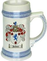 Jaynes Coat of Arms Stein / Family Crest Tankard Mug - $21.99