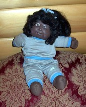 Cabbage Patch Kids Coleco #10 AA Cornsilk 2-Teeth Orphan Girl in CPK Kitty Suit - $11.99