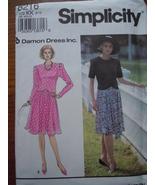 Simplicity Misses /Misses Petite 8- 14 Two Piece Dress  #8216 Uncut - $4.99