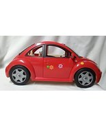 Barbie Volkswagen Beetle Vehicle (Red)  (2000) - $60.00