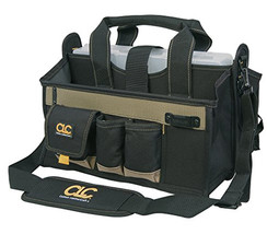 Construction Tool Bag Storage Organizer Compartment Portable Bag 15 Pocket 16In