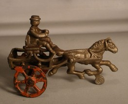 Hubley Small Cast Iron Pony Cart - $65.00