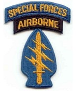 "United States ARMY 5TH SPECIAL FORCES AIRBORNE MILITARY PATCH  3"" x 2"" - $9.99"