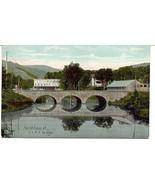 Central Vermont Railroad Bridge Northfield Vermont 1911  Post Card  - $7.00