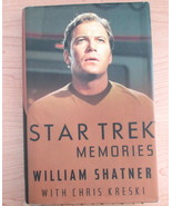 Star Trek Memories by William Shatner 1993 - $25.71