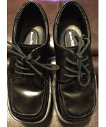 Buster Brown Boy's Formal Black Lace Up Shoes 11M - $14.80
