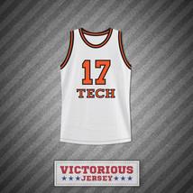 Rick Fox Chick Deagan 17 Tech U Home Basketball Jersey He Got Game - $45.99