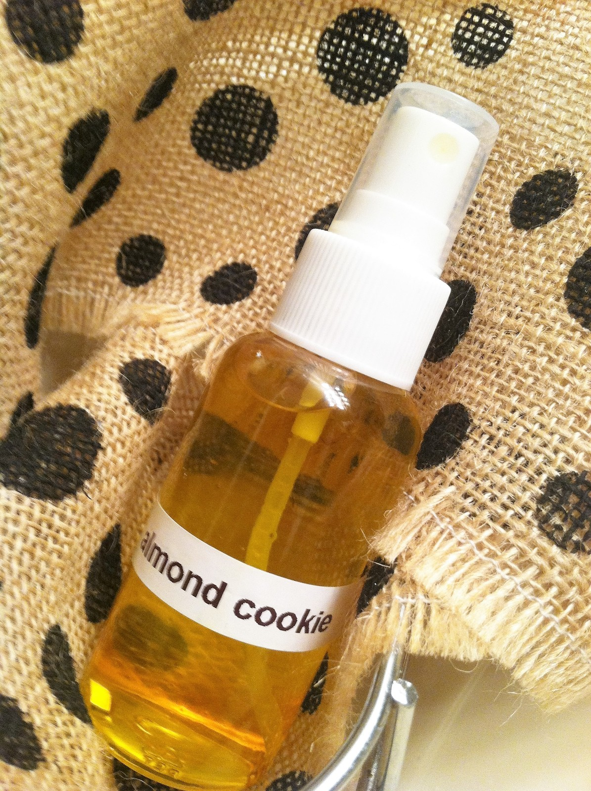 Almond cookie body spray, body spray mist, body spray, almond cookie