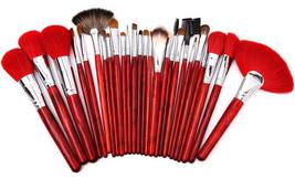Goat Hair Cosmetic Brush Women Powder Brushes Soft Makeup Toiletry Kit 26Pcs/Set - $32.98
