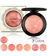 MIVAGIRL Makeup Blush Palette Baked Cheek Color Blusher Cosmetic Pressed... - $7.98