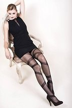ICONOFLASH Women's Patterned Fishnet Stocking Tights, Strapped In - $16.82