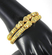 Indian Christmas Offer Fashion Jewelry # ! Gold Plated Bracelet Bangle 2... - $14.00