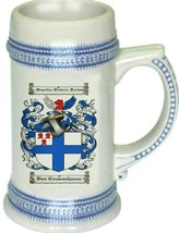Vancouwenhoven Coat of Arms Stein / Family Crest Tankard Mug - $21.99
