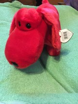 Rover Red Dog TY Beanie Buddy Retired 1998 MWMT - $9.99