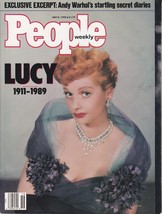 Vintage Lucy Ball 1911-1989 People Magazine May 1989 No Label - $4.99