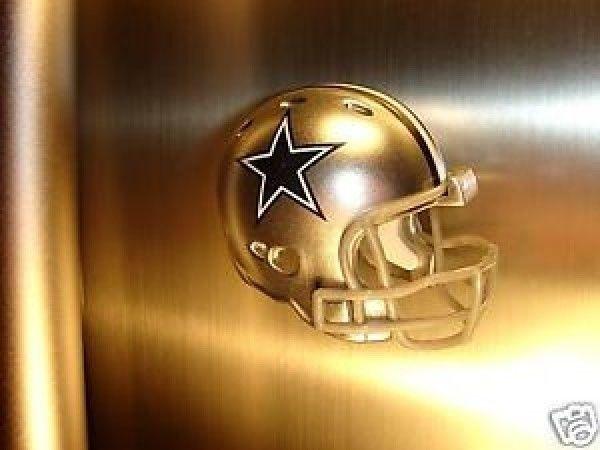 2 DALLAS COWBOYS FRIDGE REFRIGERATOR MAGNET NFL FOOTBALL HELMET