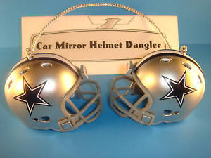 DALLAS COWBOYS CAR/HOUSE NFL FOOTBALL HELMET KNOCKERS-Hang from Anything!