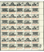 1931a Misperforate ERROR Sheet of 40 Stamps Architecture - Mint NH - Stu... - $249.00