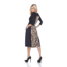Daryn Midi Dress - Brown Tiger image 3