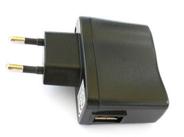 EU Plug to USB Power Adapter Charger for MP3, MP4, cell phone 5V DC 0.5A... - $4.73